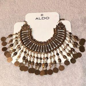 ALDO Statement Gold Necklace